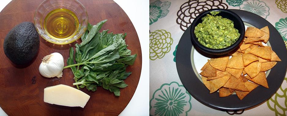 getfresh | After-School Snack: Pesto Avocado Dip